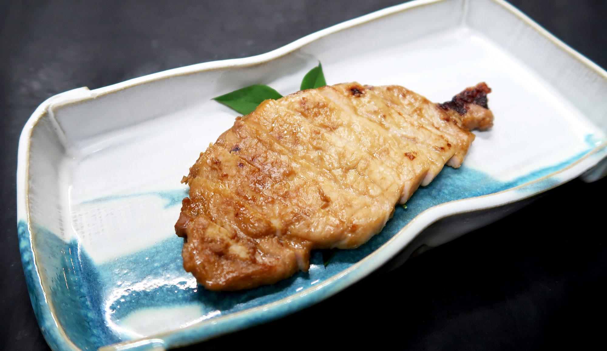 末廣園の国産豚ロース味噌漬け(3枚セット)